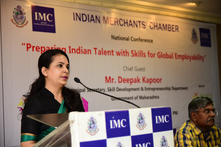 Master of Ceremony - National Conference at Indian Merchants Chamber