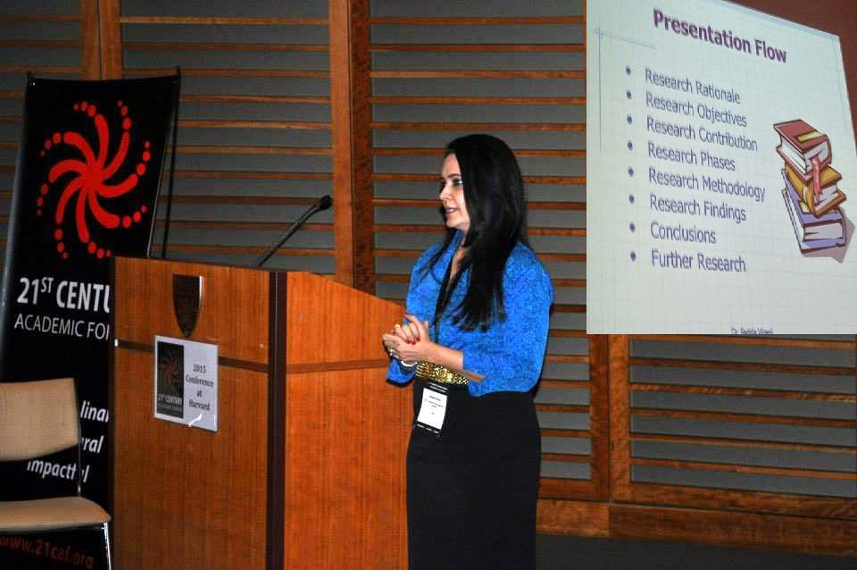 Paper Presentation at the Harvard University - Boston - USA